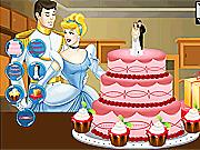 Игра Свадебный торт для золушки
