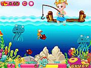 Игра Малышка Хейзел на рыбалке