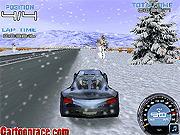 Игра Зимняя гонка 3D