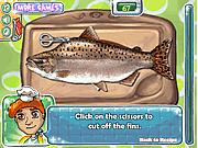 Игра Приготовление красной рыбы