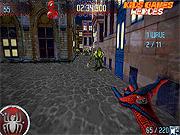 Игра Приключения человека-паука. Стреляй паутиной
