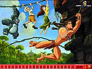 Игра Найти числа - Тарзан