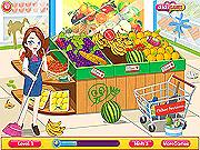 Игра Уборка в супермаркете