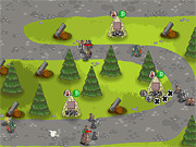 Игра Защита деревни 2