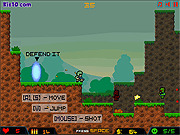 Игра Защита портала 2