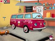 Игра Ремонт машины с мороженым