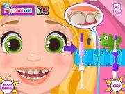 Игра Рапунзель у стоматолога