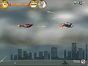 Игра Воздушный бой врубовой машины