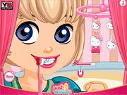 Игра Хэллоу Китти у стоматолога