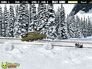 Игра Зимняя стрельба из танка