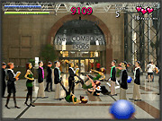 Игра Боулинг в торговом центре