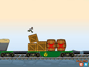 Игра Приключения Бэна 10 на поезде