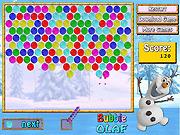 Игра Пузыри Олафа