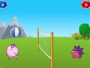 Игра Смешарики - Волейбол на двоих