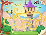 Игра Приключения малышек принцесс в лабиринте