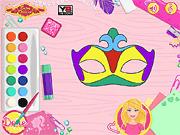 Игра Барби - Дизайнер маски