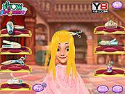 Игра Модная прическа для принцессы Рапунцель