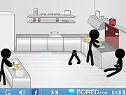 Игра Опасная кухня