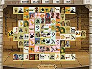 Игра Маджонг: фараон