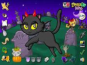 Игра Хэллоуин для котенка