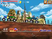 Игра Нападение грузовика монстра