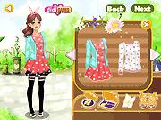 Игра Цветочная мода