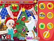 Игра Рождество для Эльзы