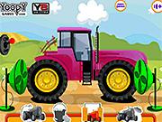 Игра Ремонт и мойка тракторов