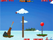 Игра Воздушный шар Бомбардир