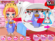 Игра Костюмы Хелло Китти для ребенка Барби