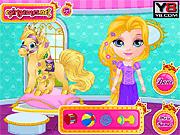 Игра Конкурс красоты ребенка Barbie Pets 2