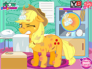 Игра Доктор лечит пони