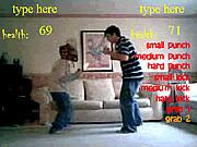 Игра Борьба в гостиной