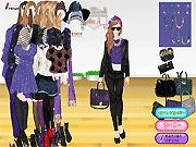 Игра Фиолетовая мода