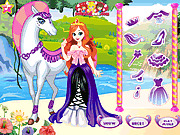 Игра Белая принцесса на лошади