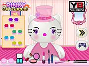 Игра Хелло Китти в парикмахерской Барби