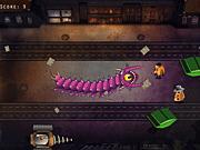 Игра Сумасшедшая инопланетная змея