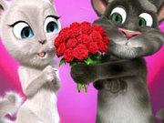 Игра Говорящий кот Том 6: Валентинка