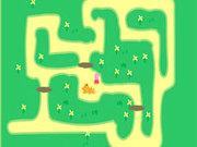 Игра Свинка Пеппа: бродилка в лабиринте