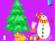 Игра Свинка Пеппа новый год