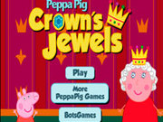 Игра Свинка Пеппа короны