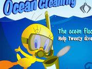 Игра Картун Нетворк: Цыпа чистит море