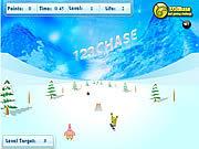 Игра Губка Боб - всадник сноуборда