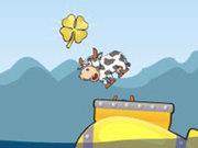 Игра Супер коровы на подводной лодке