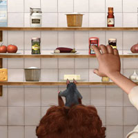 Игра Рататуй запоминает продукты