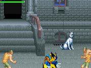 Игра Росомаха сражается с преступниками