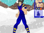 Игра Одень Росомаху в суперкостюм