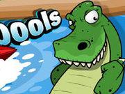 Игра На лодке от крокодилов