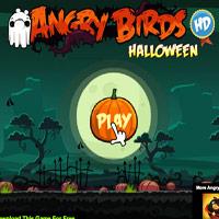 Игра Angry Birds 2 (Злые Птицы 2) - Angry Birds с тыквами