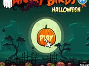 Игра Angry Birds - Энгри Бердз с тыквами